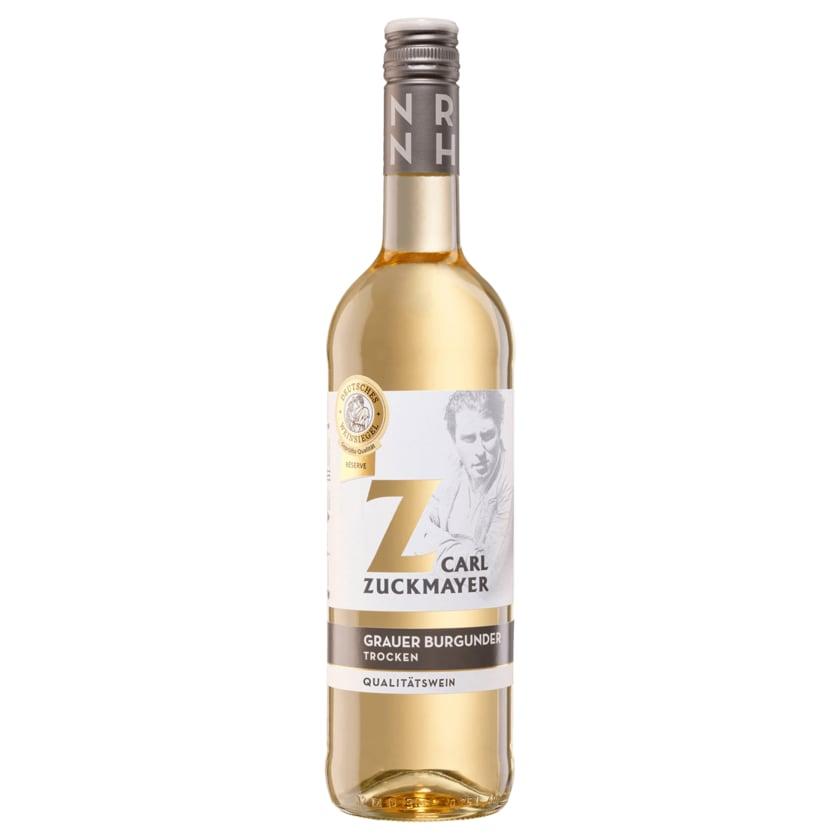 Carl Zuckmayer Weißwein Grauer Burgunder trocken 0,75l