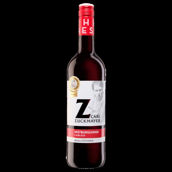 Carl Zuckmayer Rotwein Spätburgunder lieblich 0,75l