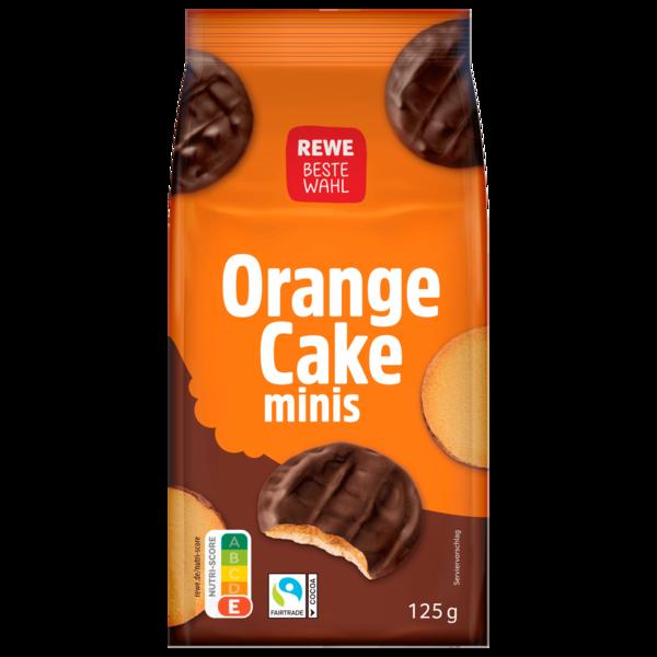 REWE Beste Wahl Orange-Cake Minis 125g