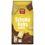 REWE Beste Wahl Schoko-Keks Minis 125g