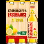 Krombacher's Fassbrause Zitrone 6x0,33l