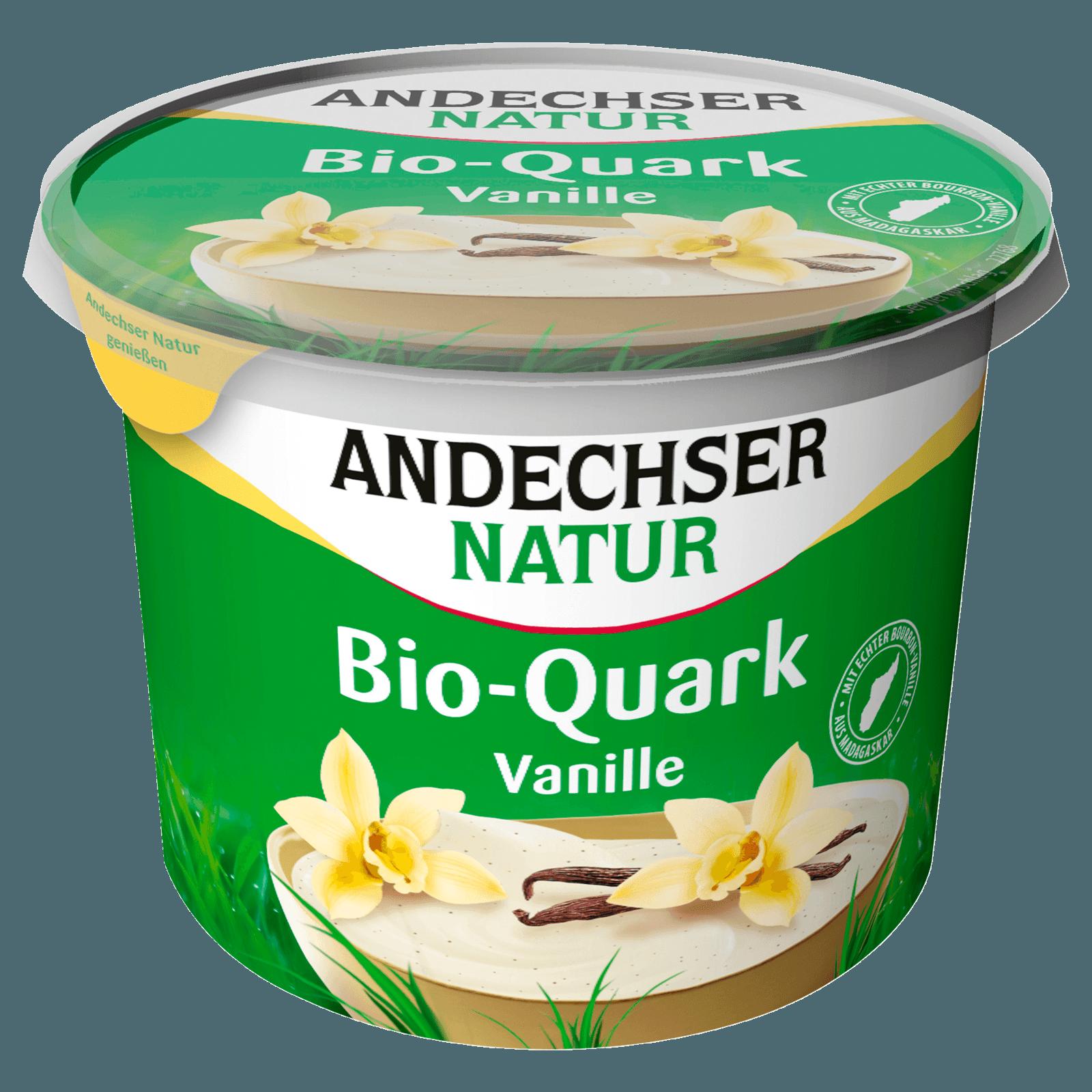 Andechser Natur Bio-Fruchtquark Vanille 450g