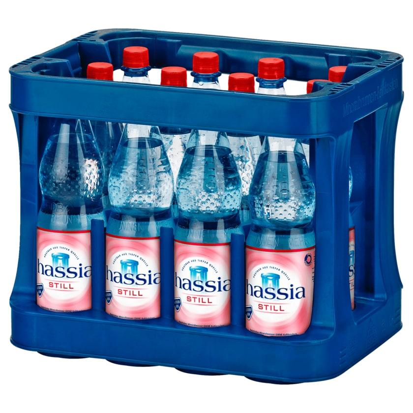 Hassia Mineralwasser still 12x1l