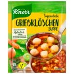 Knorr Suppenliebe Grießklößchen Suppe 3 Teller