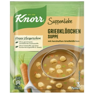Knorr Suppenliebe Grießklößchen-Suppe 750ml