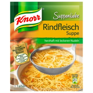 Knorr Suppenliebe Rindfleisch-Suppe 750ml