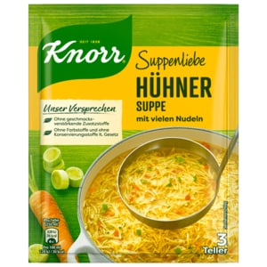 Knorr Suppenliebe Hühner-Suppe 750ml