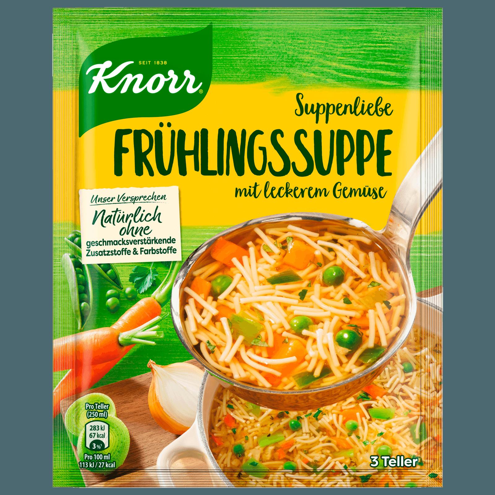 Knorr Suppenliebe Frühlings Suppe 3 Teller