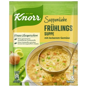 Knorr Suppenliebe Frühlings-Suppe 750ml