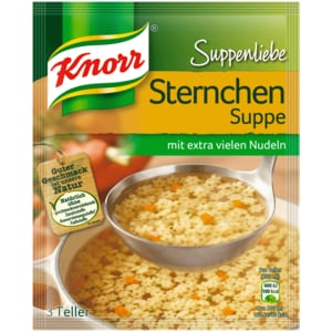 Knorr Suppenliebe Sternchen-Suppe 750ml