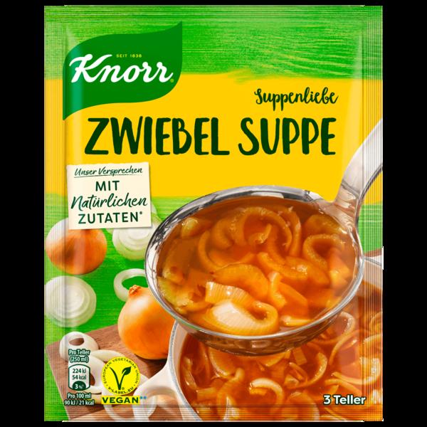Knorr Suppenliebe Zwiebel Suppe 3 Teller