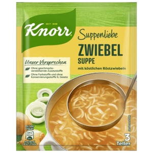 Knorr Suppenliebe Zwiebelsuppe 750ml
