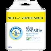Penaten ulta sensitiv Feuchtücher Vorteilspack 4+1, 56 Stück