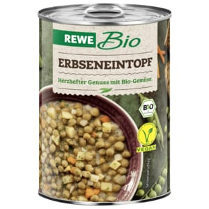 REWE Bio Erbseneintopf vegetarisch 400ml