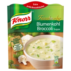 Knorr Feinschmecker Blumenkohl-Broccoli-Suppe 500ml