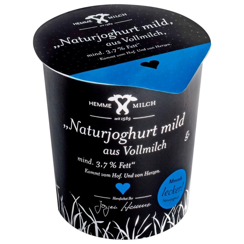 Naturjoghurt mild mind. 3,7% Fett