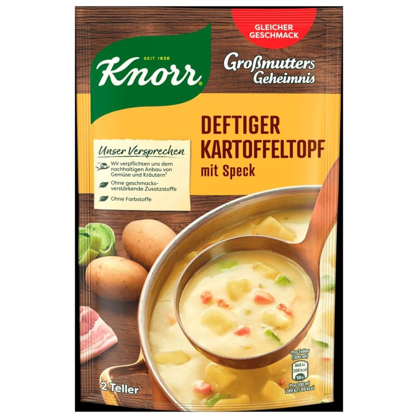 Knorr Großmutters Geheimnis Deftiger Kartoffeltopf mit Speck & Lauch 600ml