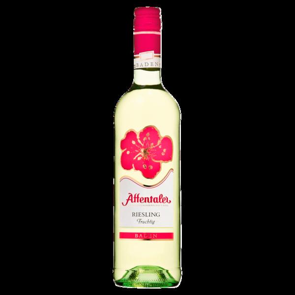 Affentaler Weißwein Blütenedition Riesling QbA fruchtig 0,75l