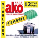 Ako Stahl-Pads 12 Stück