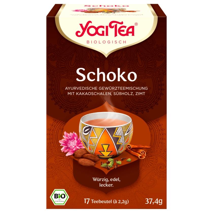 Yogi Tea Schoko Bio 37,4g, 17 Beutel