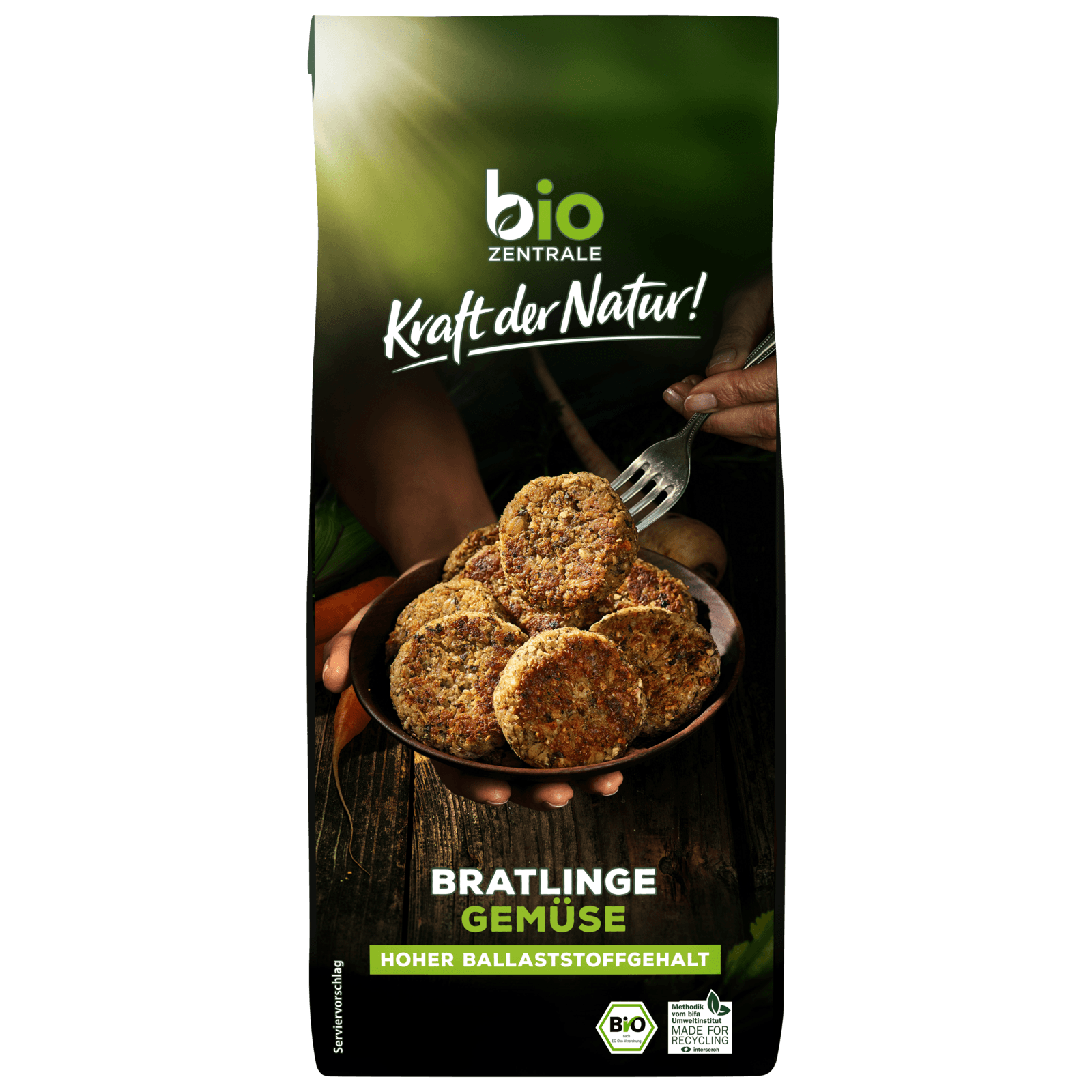 Bio Zentrale Bratlinge Gemüse 300g