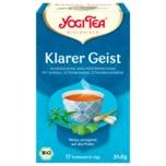 Yogi Tea Klarer Geist Tee Bio 30,6g, 17 Beutel