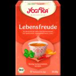 Yogi Tea Lebensfreude Bio 30,6g, 17 Beutel