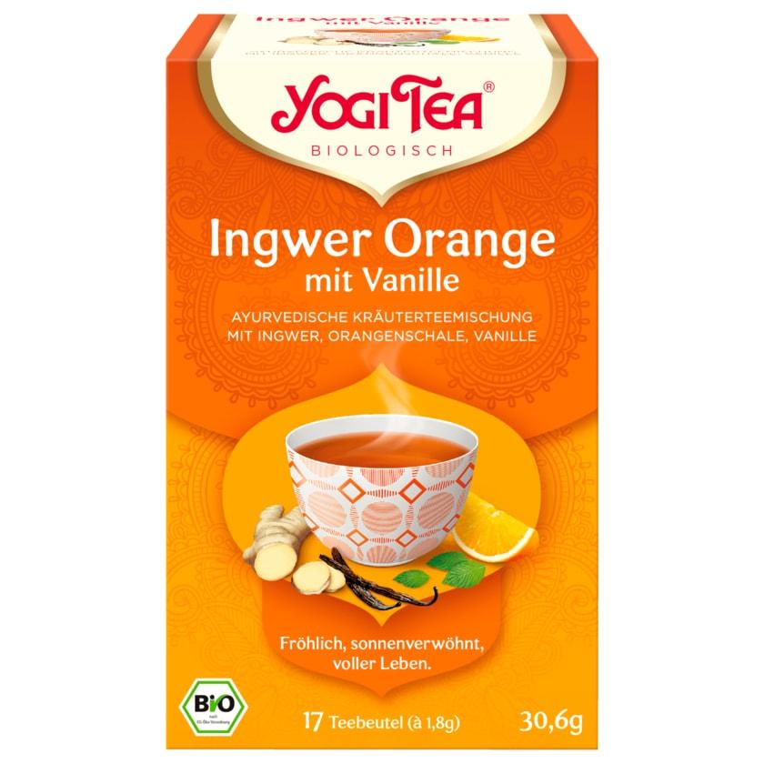 Yogi Tea Ingwer-Orange Bio 30,6g, 17 Beutel
