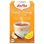 Yogi Tea Ingwer-Orange Bio 30,6g, 17 Beutel