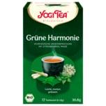 Yogi Tea Grüne Harmonie Bio 30,6g, 17 Beutel