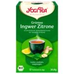 Yogi Tea Bio Grüntee Ingwer Zitrone 30,6g, 17 Beutel