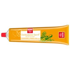 REWE Beste Wahl Delikatess-Senf mittelscharf 200ml