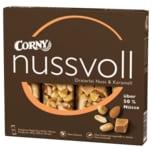 Corny Nussvoll Dreierlei Nuss & Karamell 96g