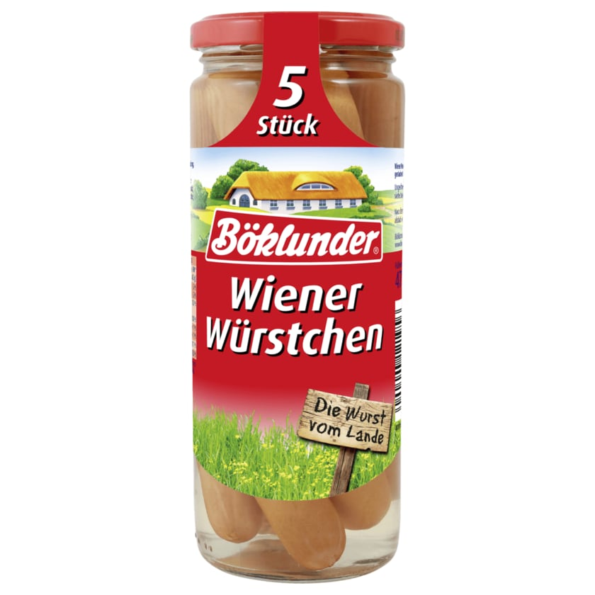 Böklunder Wiener Würstchen 210g