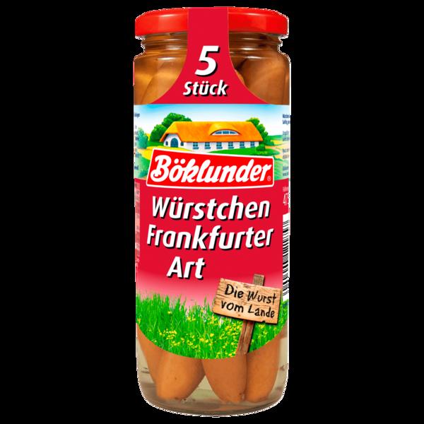Böklunder Würstchen Frankfurter Art 210g