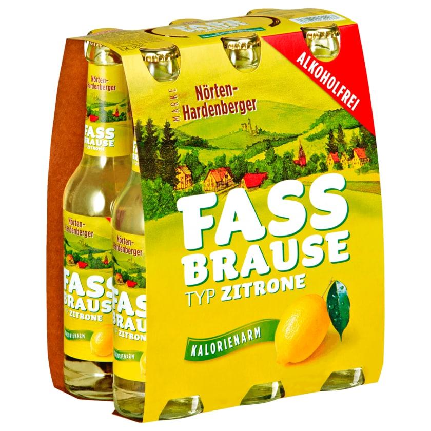 Nörten-Hardenberger Fassbrause Zitrone 6x0,33l