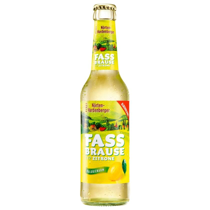 Nörten-Hardenberger Fassbrause Zitrone 0,33l