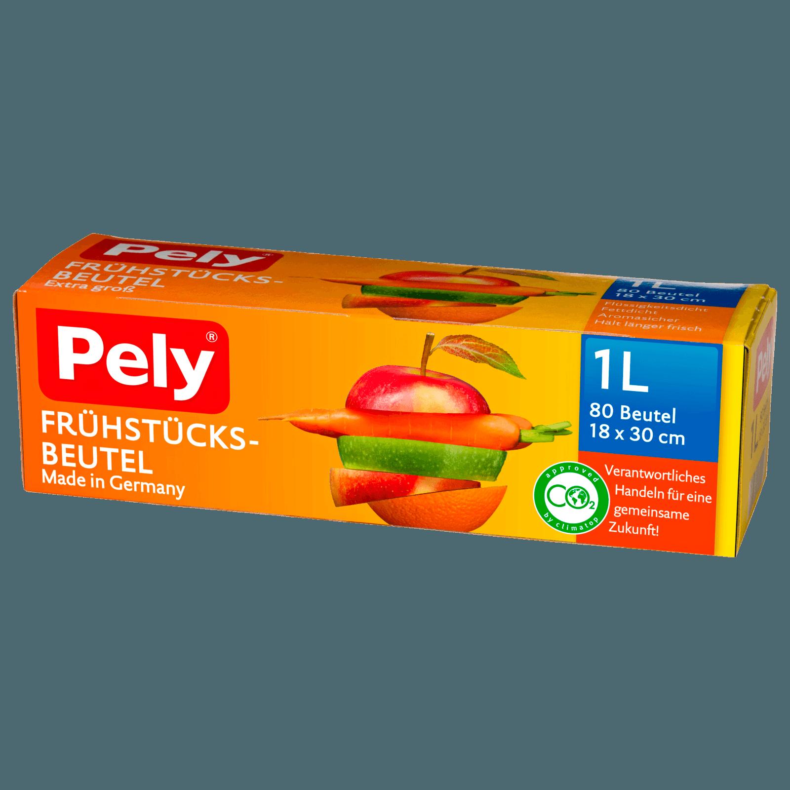 Pely Frühstücksbeutel 80 Stück