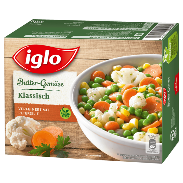 """Iglo Buttergemüse """"Klassisch"""" 300g"""