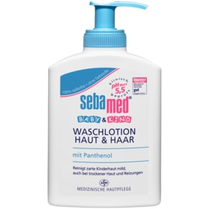 Sebamed Baby & Kind Waschlotion Haut & Haar 200ml