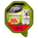 Cesar Gartenvielfalt Rind und Gemüse 150g