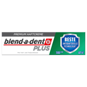 Blend-a-dent Plus Premium-Haftcreme Duo Schutz 40g