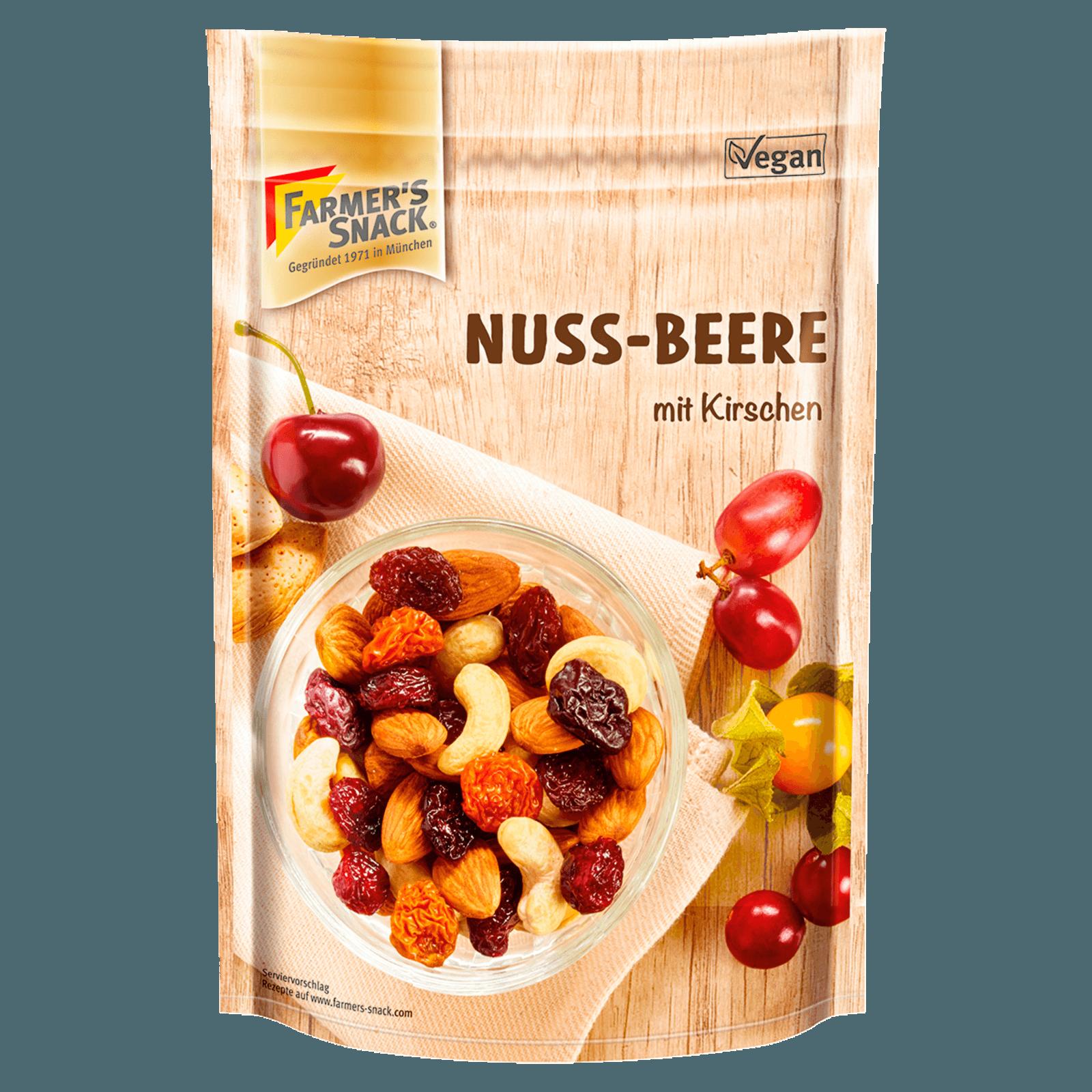 Farmer's Snack Nuss-Beeren mit Kirschen 175g