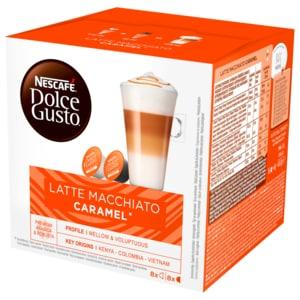 Nescafé Dolce Gusto Latte Macchiato Caramel 168,8g, 16 Kapseln