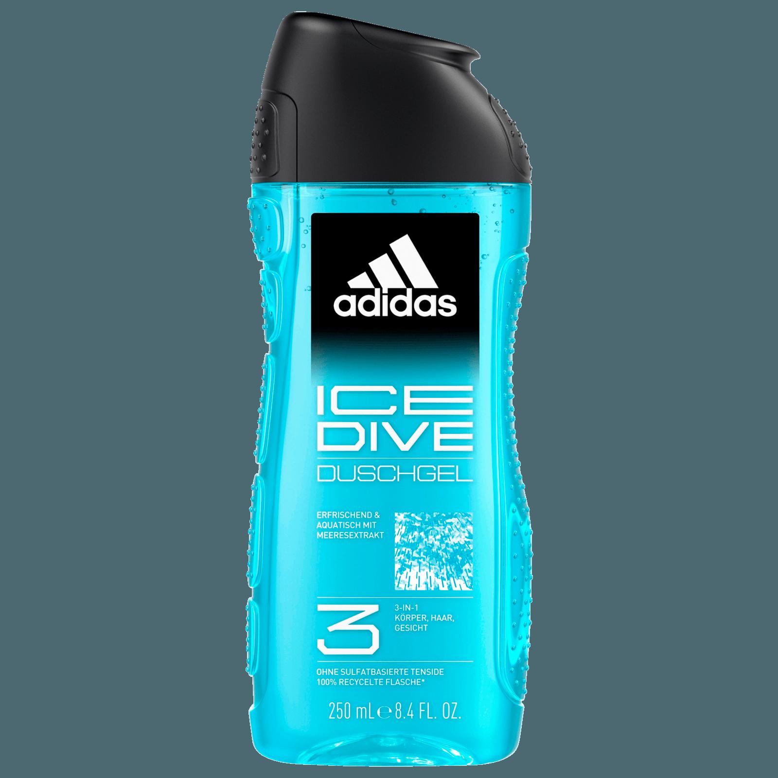 Adidas Ice Dive 3in1 Shower-Gel 250ml