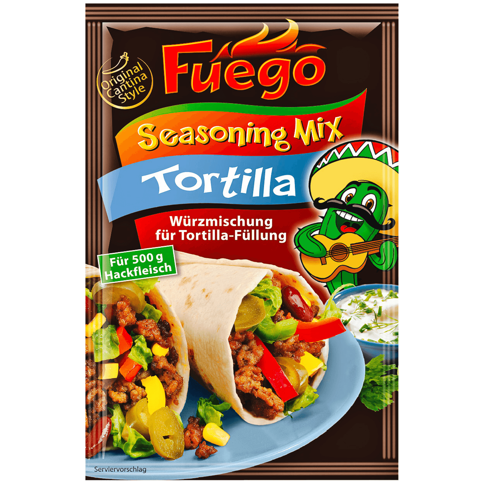 Fuego Tortilla Seasoning-Mix 35g