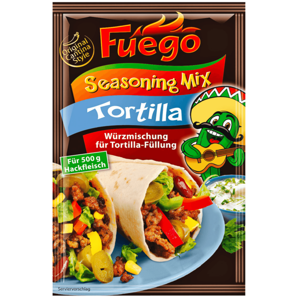 Fuego Tortilla Seasoning-Mix 35g