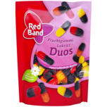Red Band Fruchtgummi-Lakritz-Duos 200g