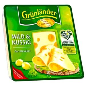 Grünländer Scheiben mild & nussig 175g