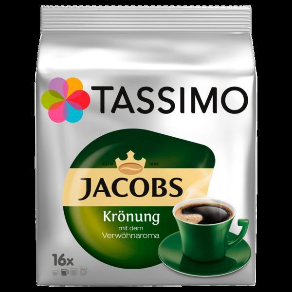 Tassimo Kaffeekapseln Jacobs Krönung 104g, 16 Kapseln